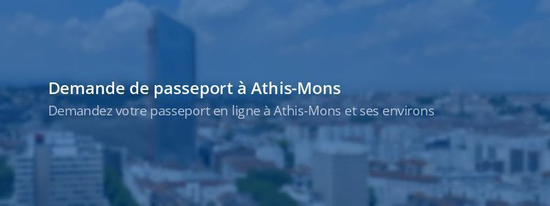 Service passeport Athis-Mons