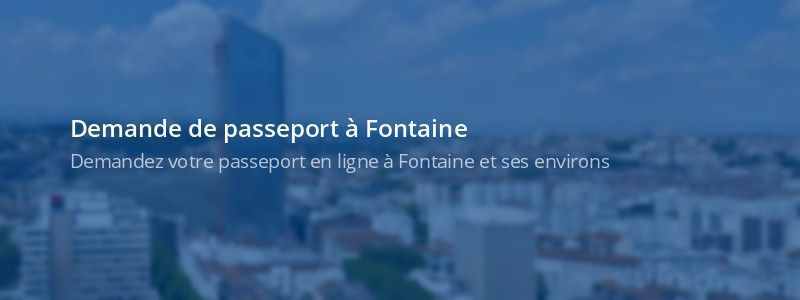 Service passeport Fontaine