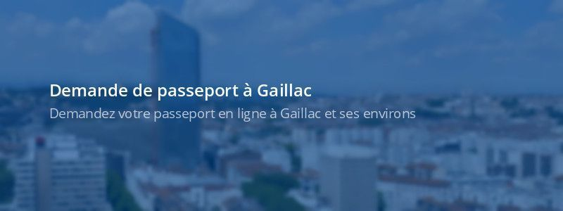 Service passeport Gaillac